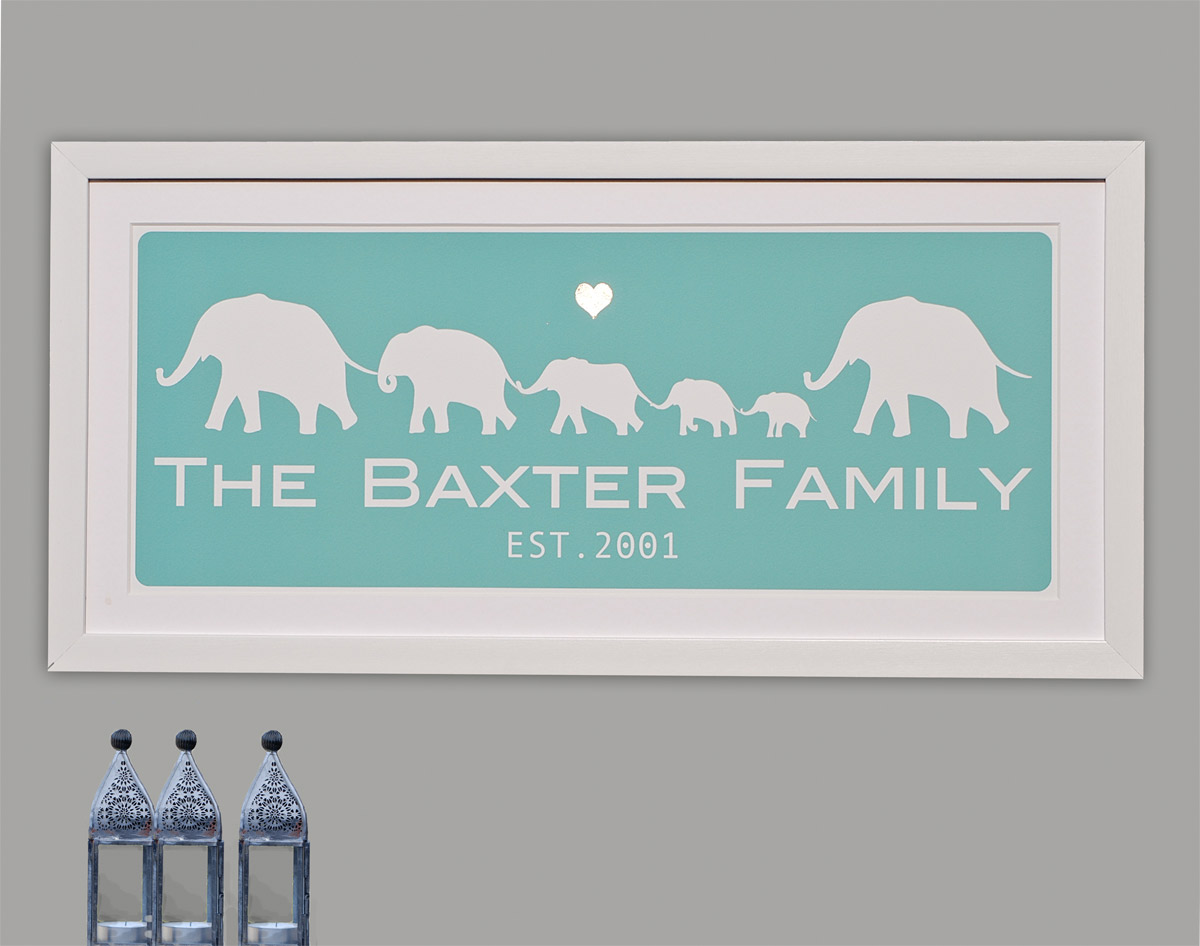 Quality Baby Gifts Uk : Personalised christening gifts the owl and cat print